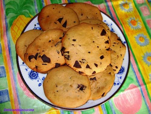 Biscottoni al cioccolato per la colazione