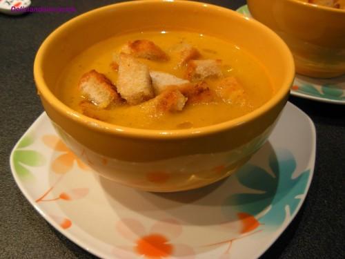 Zuppa di carote e patate