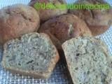 muffins banana e noci
